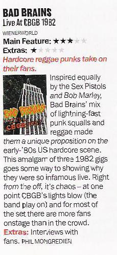 Bad Brains – Live at CBGB 1982 [DVD]-621