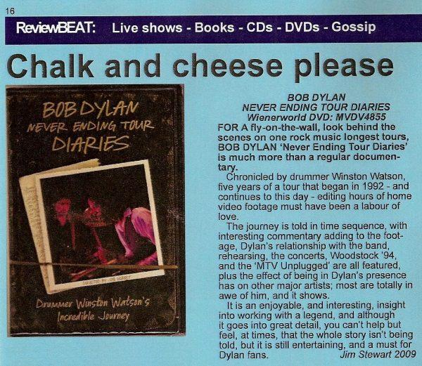Bob Dylan – Never Ending Tour Diaries -711
