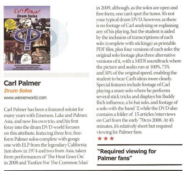 Carl Palmer – Drum Solos -672