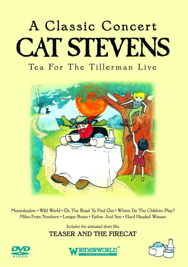A Classic Concert: Cat Stevens – Tea For The Tillerman Live-0