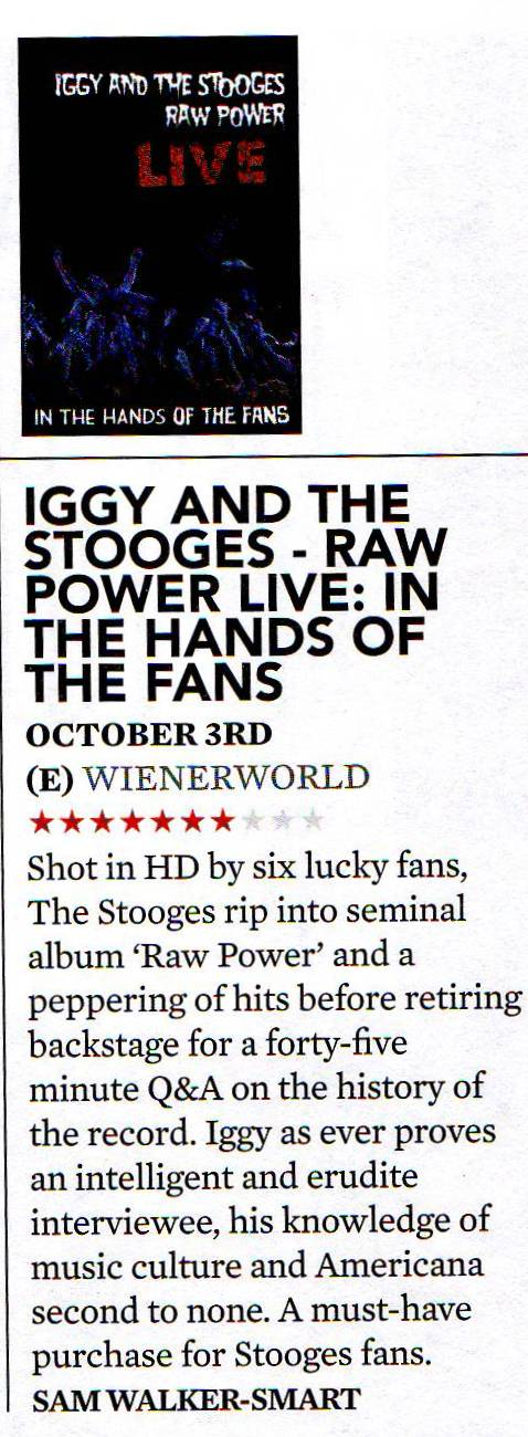 Iggy & The Stooges - Raw Power Live (DVD)-682