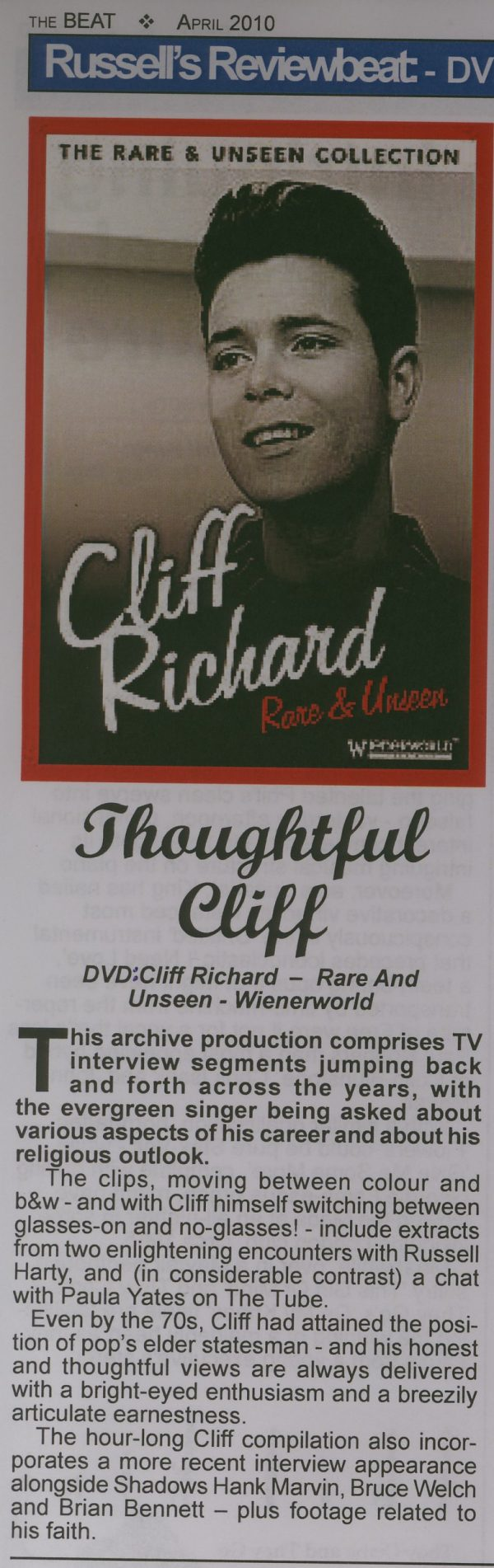 Rare and Unseen – Cliff Richard -545