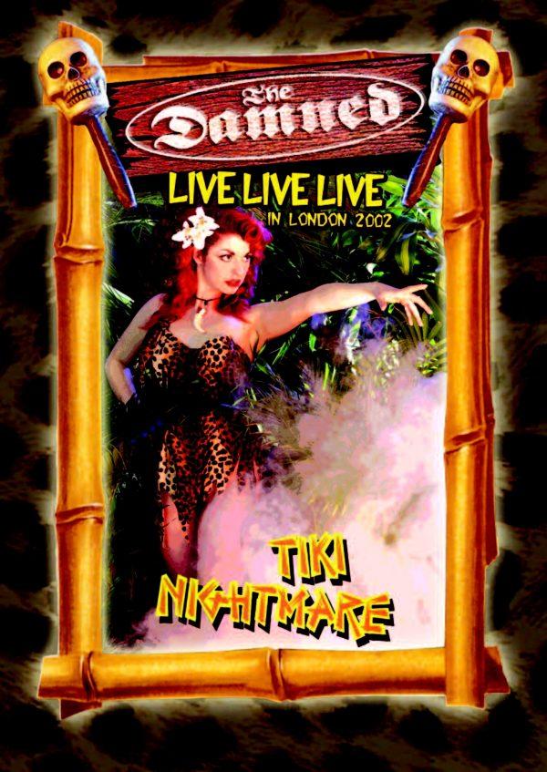 Damned - Live Live Live: Tiki Nightmare-0