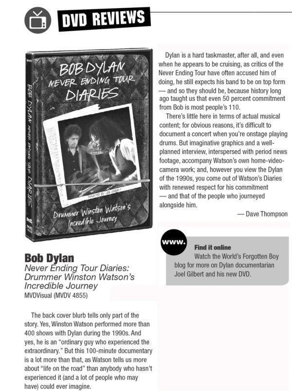Bob Dylan – Never Ending Tour Diaries -708