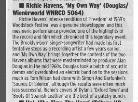 Richie Havens - My Own Way -816