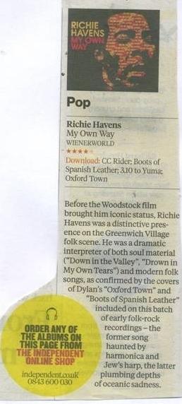 Richie Havens - My Own Way -817