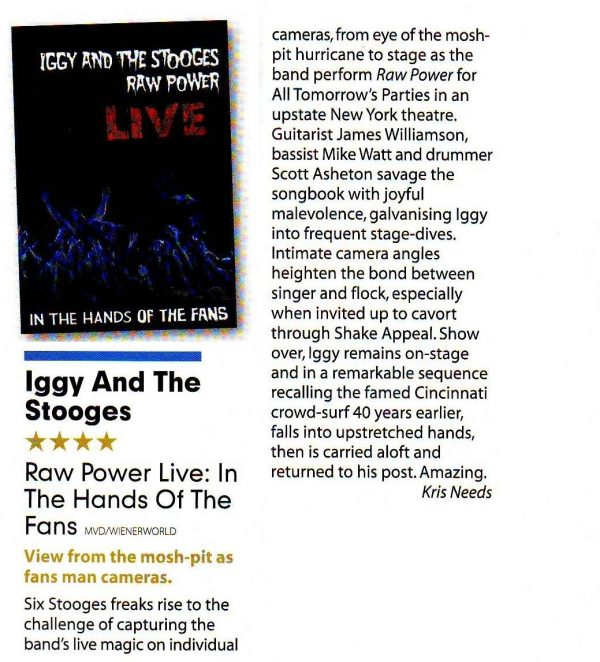 Iggy & The Stooges - Raw Power Live (DVD)-678