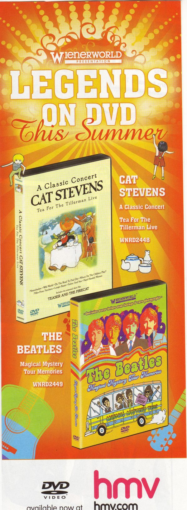A Classic Concert: Cat Stevens – Tea For The Tillerman Live-591