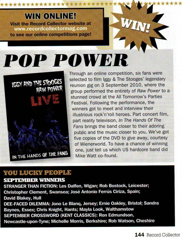 Iggy & The Stooges - Raw Power Live (DVD)-681