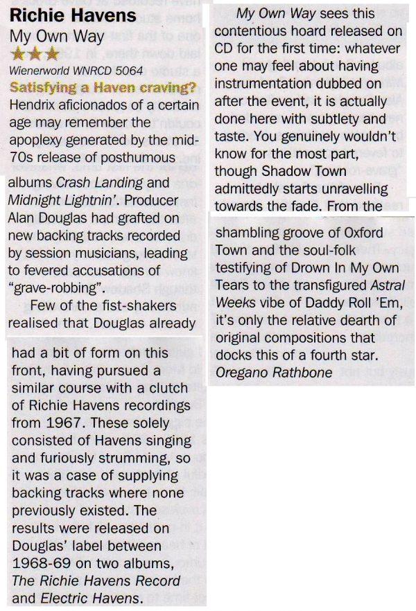Richie Havens - My Own Way -813