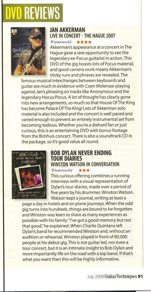 Bob Dylan – Never Ending Tour Diaries -709