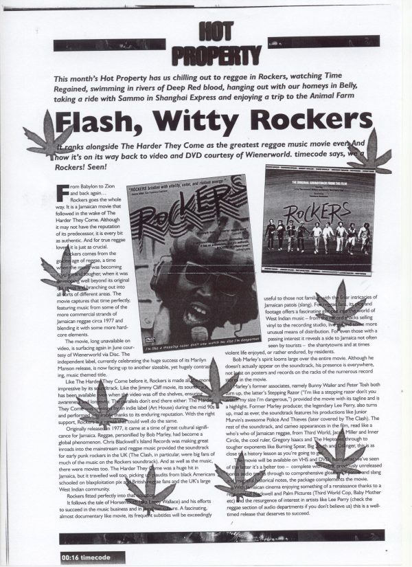 Rockers (Blu-Ray) (15)-638