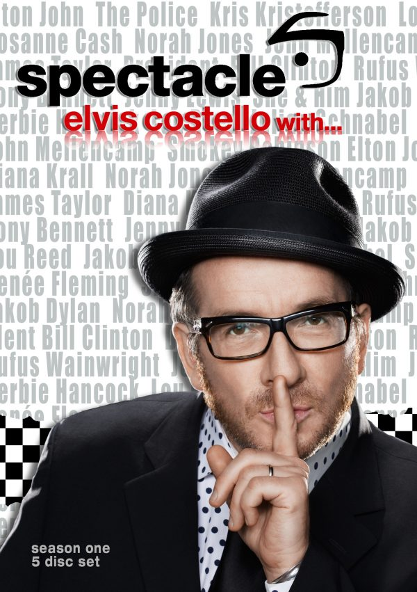 Spectacle – Elvis Costello With… Season 1 (DVD) -0