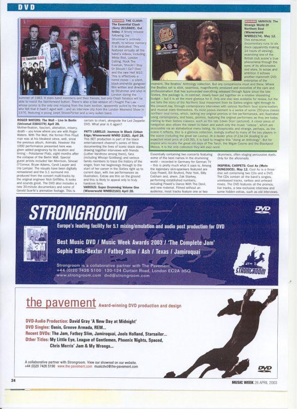 Strange World of Northern Soul (6 DVD set)-641
