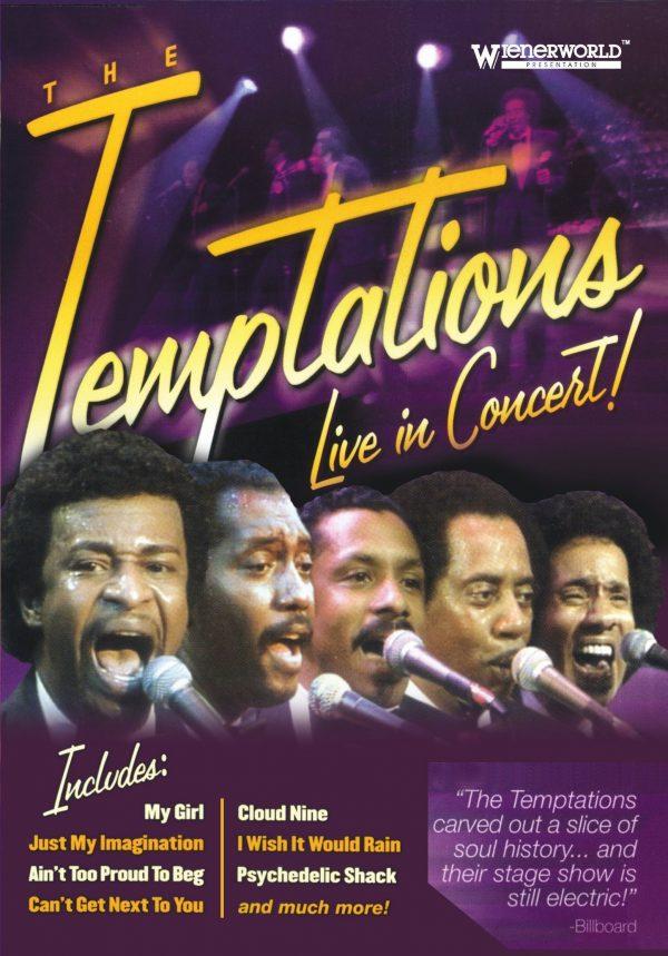 Temptations- Live In Concert-0