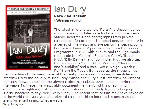 Rare and Unseen – Ian Dury-538