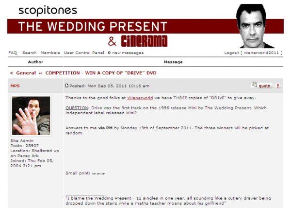 Wedding Present - Drive-676