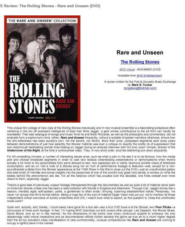 Rare and Unseen – The Rolling Stones -560