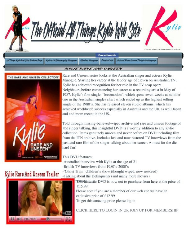 Rare and Unseen – Kylie Minogue-532