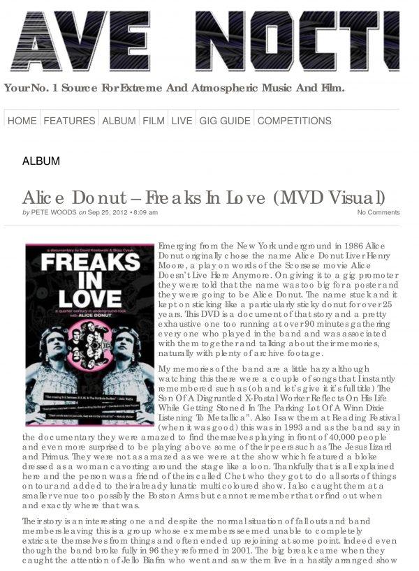 Alice Donut - Freaks In Love-856