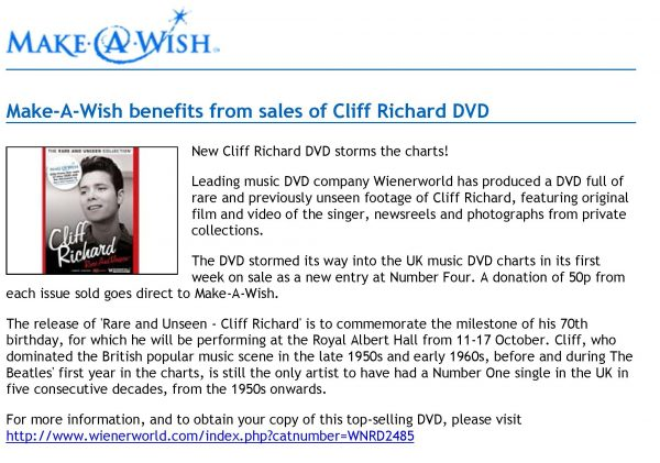 Rare and Unseen – Cliff Richard -544