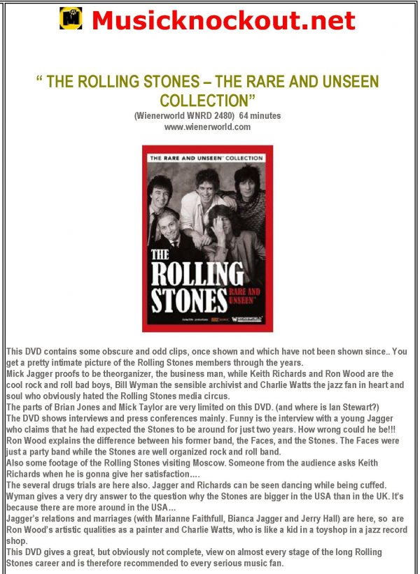 Rare and Unseen – The Rolling Stones -561