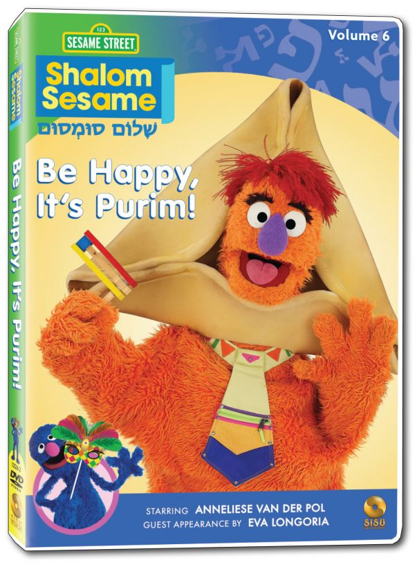 Shalom Sesame – Be Happy, It's Purim! -0
