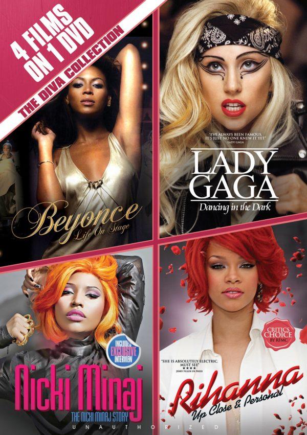 The Diva Collection: Beyonce, Lady Gaga, Nicki Minaj & Rihanna-0
