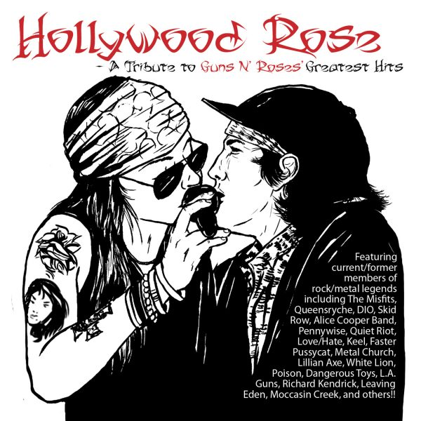 Hollywood Rose - A Tribute To Guns N Roses Greatest Hits-0