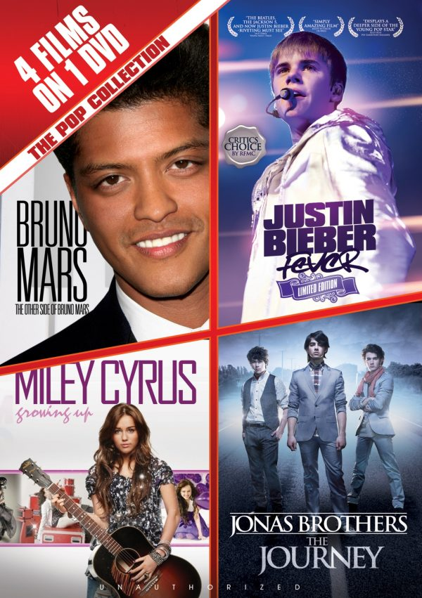 The Pop Collection: Bruno Mars, Justin Bieber, Miley Cyrus & The Jonas Brothers-0
