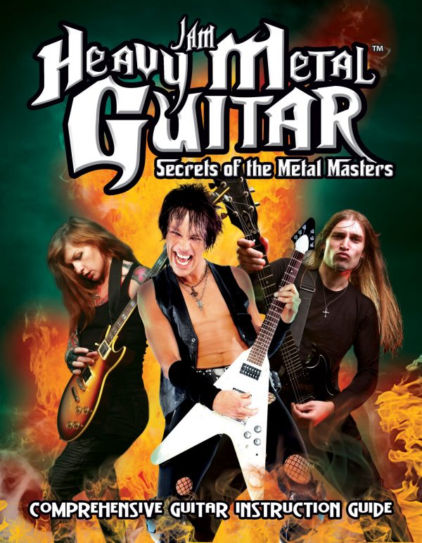 Jam Heavy Metal Guitar: Secrets Of The Metal Masters-0