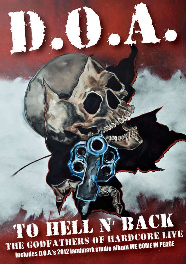 D.O.A. - To Hell and Back (DVD + CD)-0