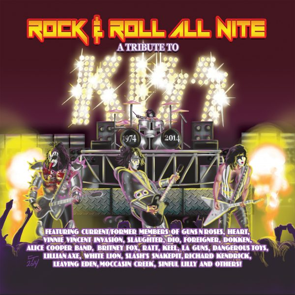 Rock & Roll All Nite: A Tribute To Kiss: 1974 – 2014-0