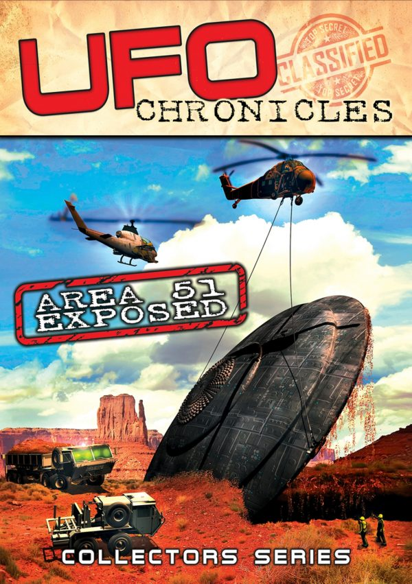 UFO Chronicles: Area 51 Exposed-0