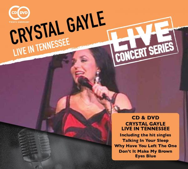 Crystal Gayle - Live In Tennessee (2 discs)-0