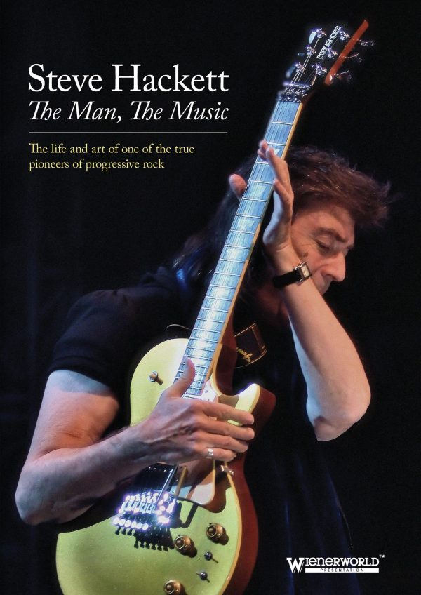 Steve Hackett - The Man, The Music-0