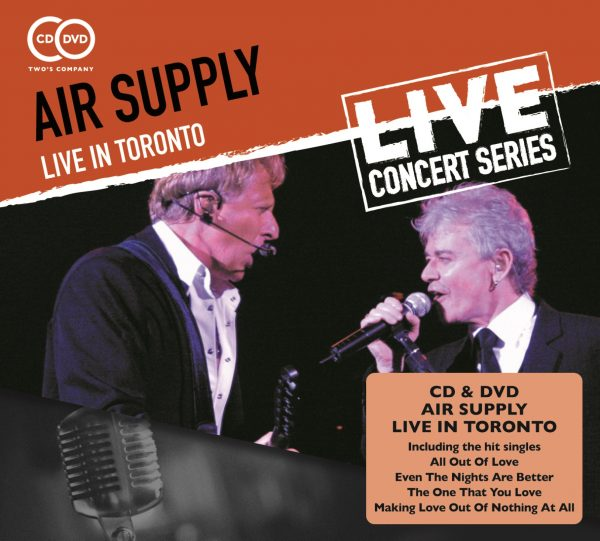 Air Supply - Live in Toronto (2 discs)-0