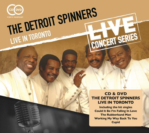 The Detroit Spinners - Live in Toronto (2 discs)-0