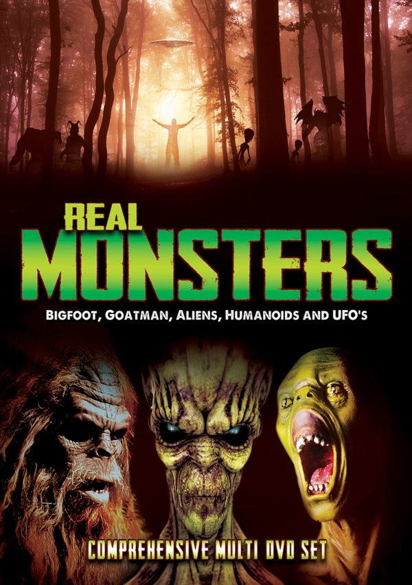 Real Monsters: Bigfoot, Goatman, Aliens, Humanoids And UFOs (2 discs)-0