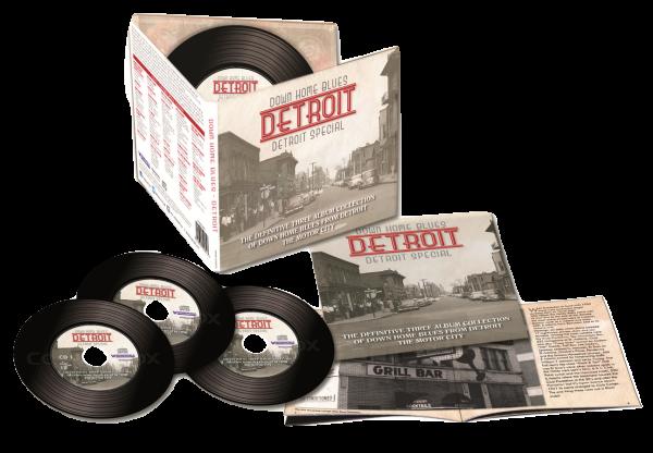 Down Home Blues Detroit - Detroit Special (3 discs)-0