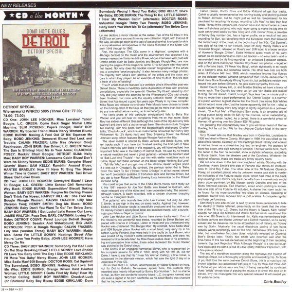 Down Home Blues Detroit - Detroit Special (3 discs)-1789