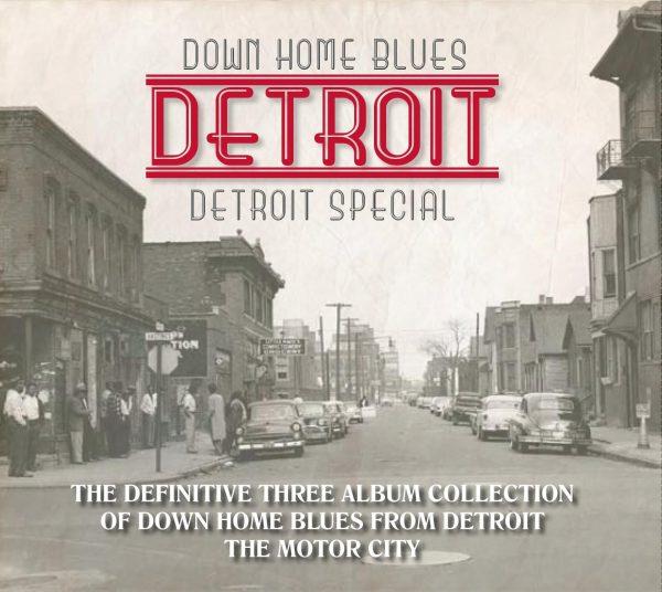 Down Home Blues Detroit - Detroit Special (3 discs)-1738