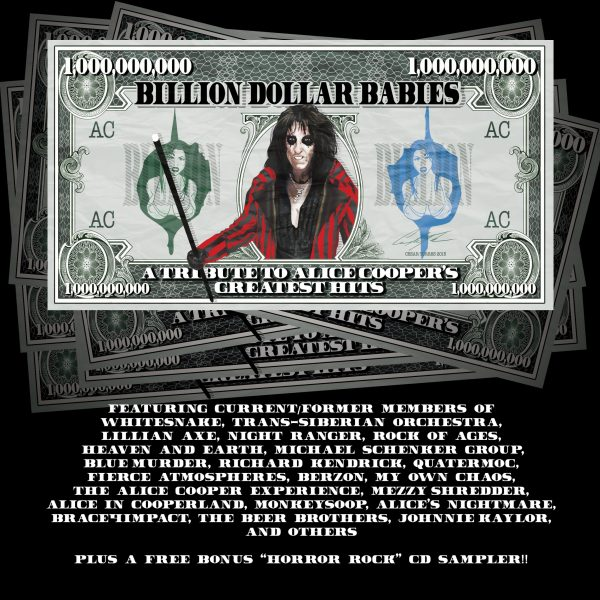 Billion Dollar Babies - A Tribute To Alice Cooper (2 discs)-0