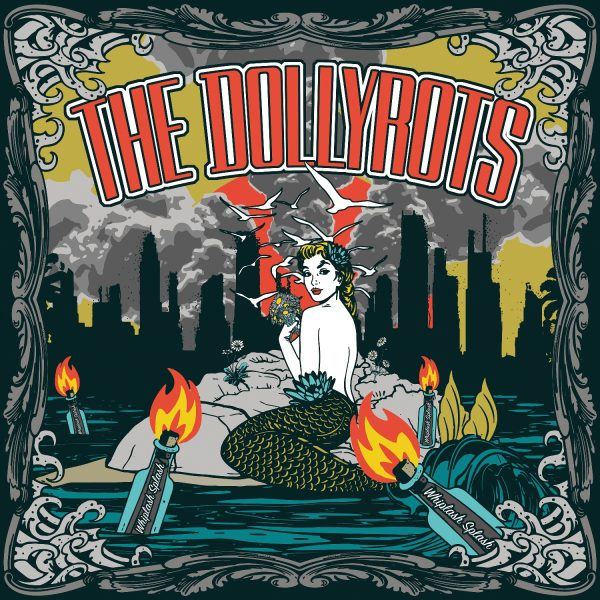 The Dollyrots - Whiplash Splash (LP)-0