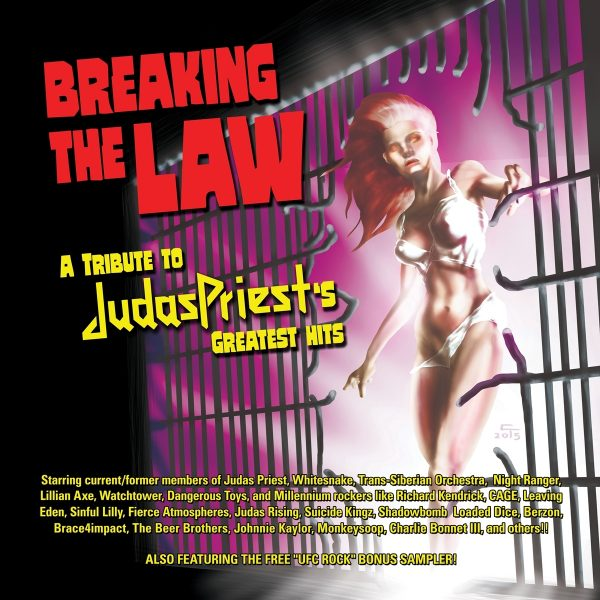 Breaking The Law: A Tribute To Judas Priest's Greatest Hits (2CD)-0