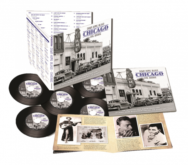 Down Home Blues Chicago Fine Boogie (5CD)-0