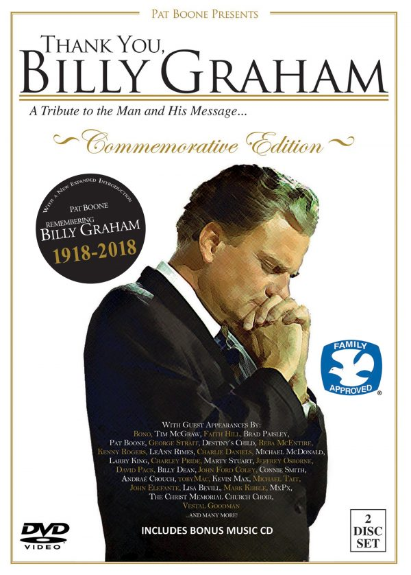 Thank You, Billy Graham: A Tribute To The Man And His Message (DVD/CD)-0