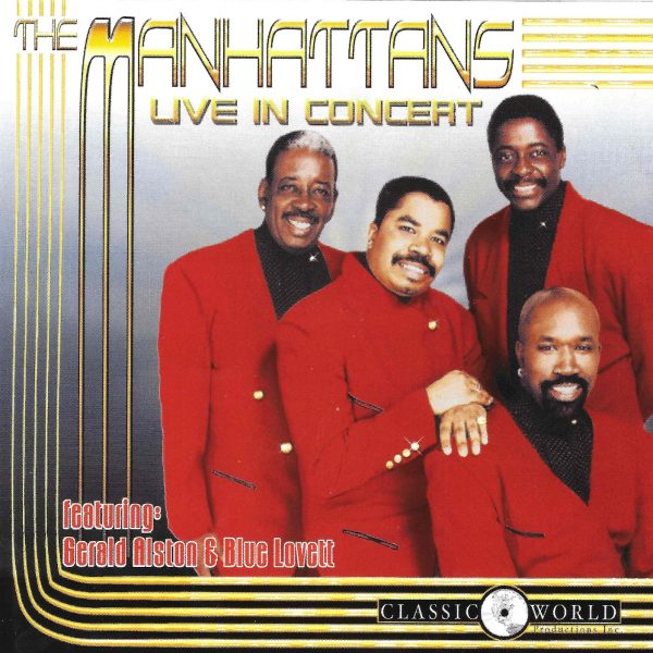 The Manhattans - Live In Concert-0