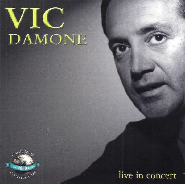 Vic Damone - Live In Concert-0
