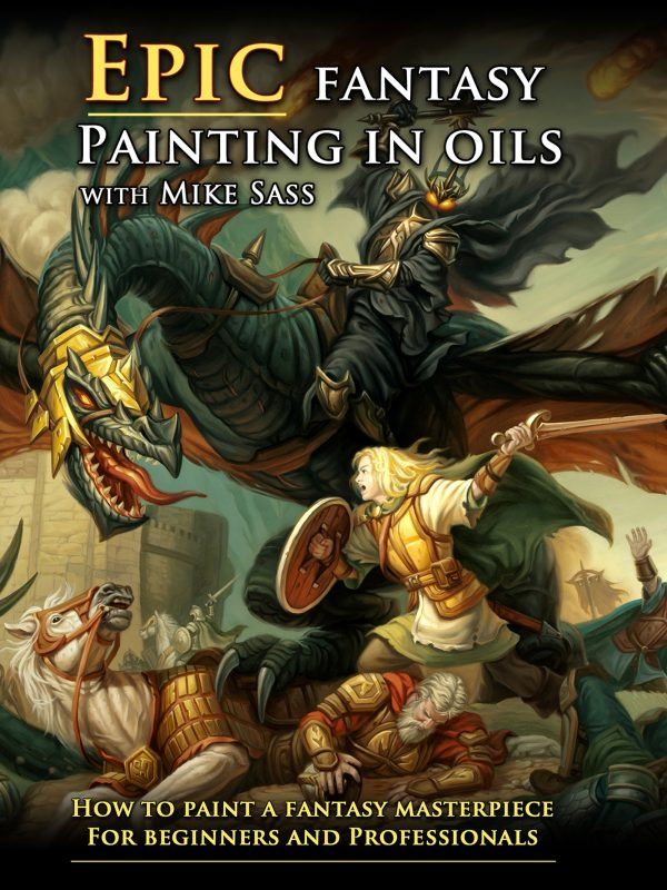 Mike Sass - Epic Fantasy Painting In Oils-0